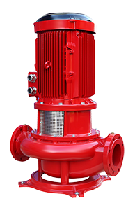 Vertical Shaft Line Type (In-Line) Coaxial Fire Pumps FNLL